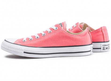 Chaussures Converse Chuck Taylor All Star low rose clair vue extérieure