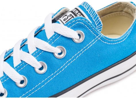 Chaussures Converse Chuck Taylor All Star Low bleue vue dessus