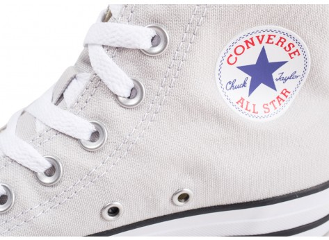 Chaussures Converse Chuck Taylor All Star Hi grise vue dessus