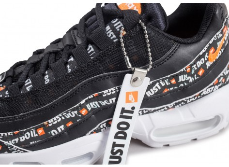 Chaussures Nike Air Max 95 Just Do It noire vue dessus