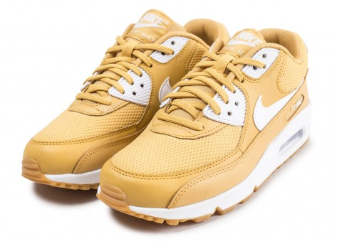Chaussures Nike Air Max 90 or femme vue intérieure