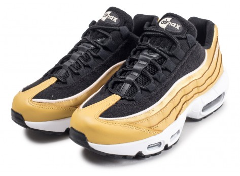 Chaussures Nike Air Max 95 LX or femme vue intérieure