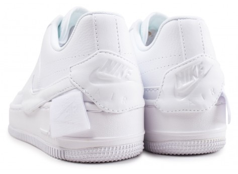Chaussures Nike Air Force 1 Jester XX blanche femme vue dessous