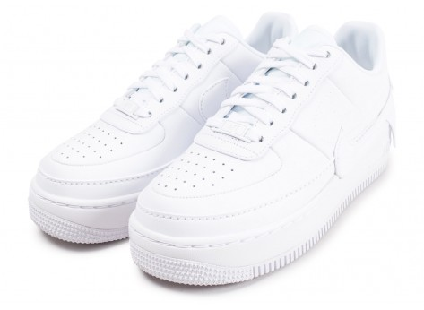 Chaussures Nike Air Force 1 Jester XX blanche femme vue intérieure