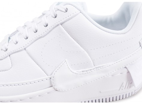 Chaussures Nike Air Force 1 Jester XX blanche femme vue dessus