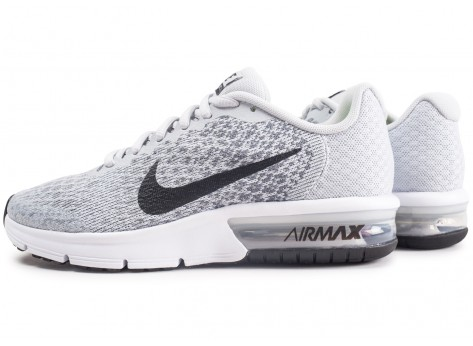 nike air max sequent 2 homme grise