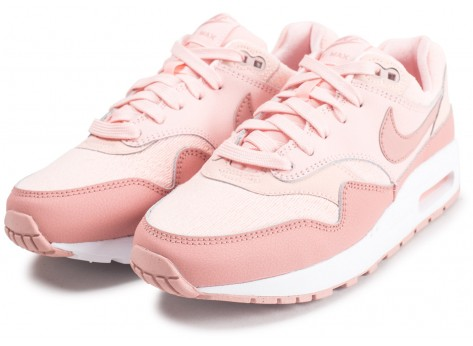Chaussures Nike Air Max 1 rose junior vue intérieure