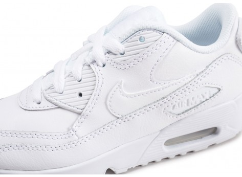 Chaussures Nike Air Max 90 Leather Pre-School enfant  vue dessus