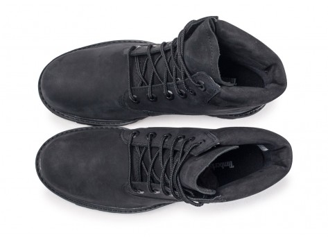 Chaussures Timberland Boots Lucia Way 6 inch noir vue arrière