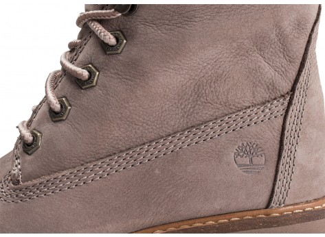 Chaussures Timberland Courmayeur Valley grise femme vue dessus