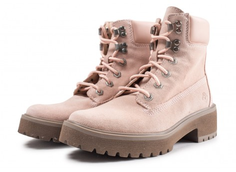 Chaussures Timberland Carnaby Cool rose femme vue intérieure