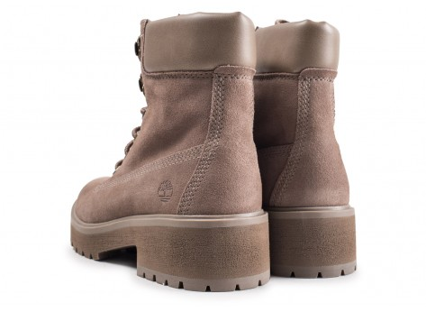 Chaussures Timberland Carnaby Cool grise femme vue dessous