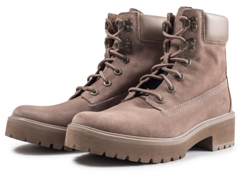 Chaussures Timberland Carnaby Cool grise femme vue intérieure
