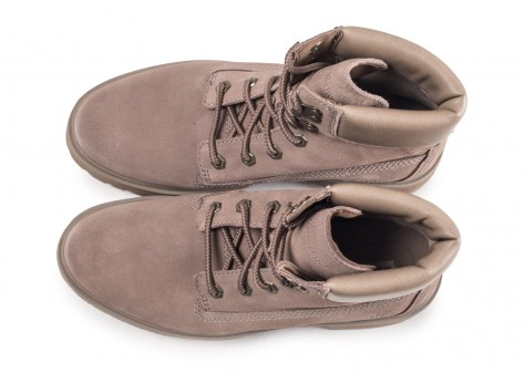 Chaussures Timberland Carnaby Cool grise femme vue arrière