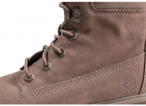 Chaussures Timberland Carnaby Cool grise femme vue dessus