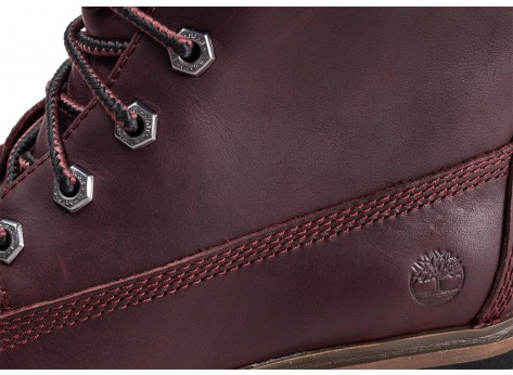 Chaussures Timberland London Square 6-inch bordeaux vue dessus