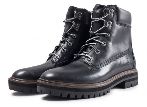 Chaussures Timberland London Square 6in noire vue intérieure