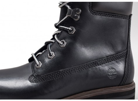 Chaussures Timberland London Square 6in noire vue dessus