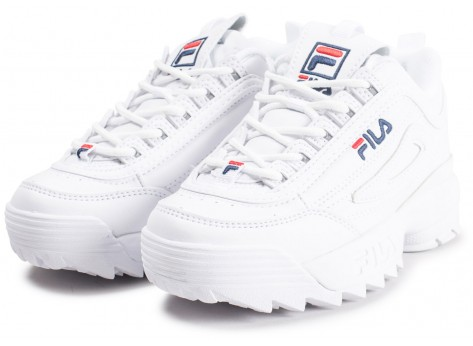 Fila Disruptor 2 Enfant Blanche Chaussures Prix Styl 233 S