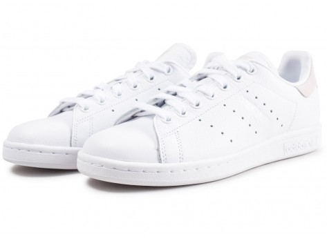 Chaussures adidas Stan Smith blanche femme vue intérieure