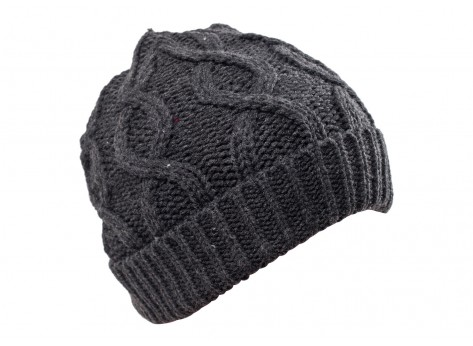Bonnets Chausport Bonnet Gaston torsades gris