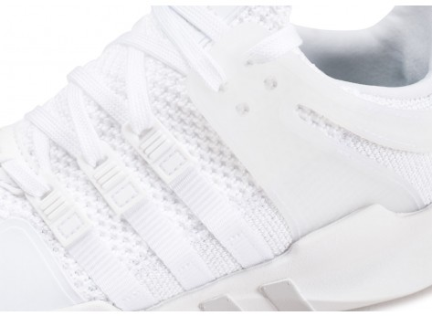 Chaussures adidas EQT Support ADV blanche femme vue dessus