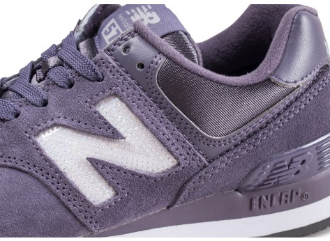 Chaussures New Balance WL574FHB Lila femme vue dessus