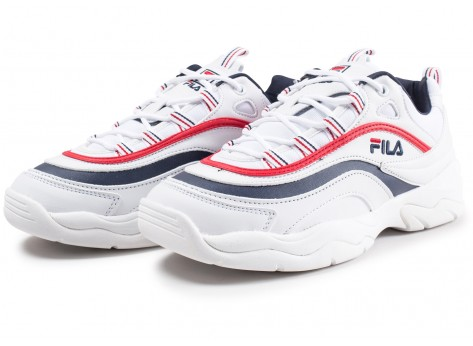 Chaussures Fila Ray blanche vue intérieure