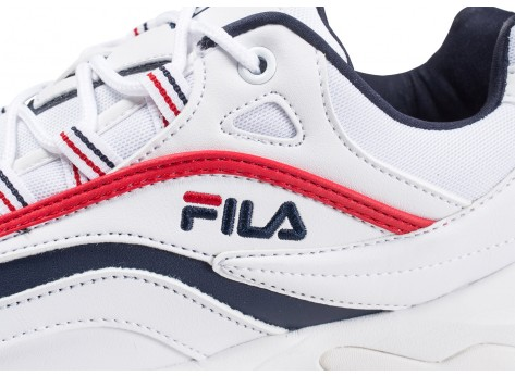 Chaussures Fila Ray blanche vue dessus