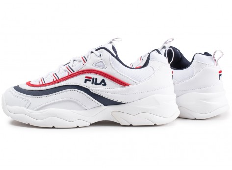 Chaussures Fila Ray blanche vue extérieure
