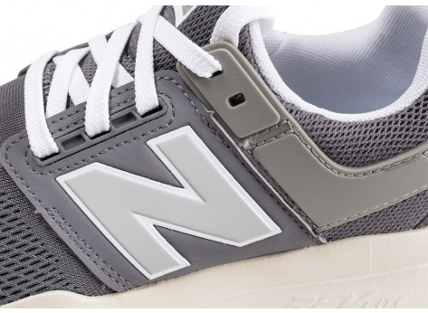 Chaussures New Balance MS247MM grise  vue dessus