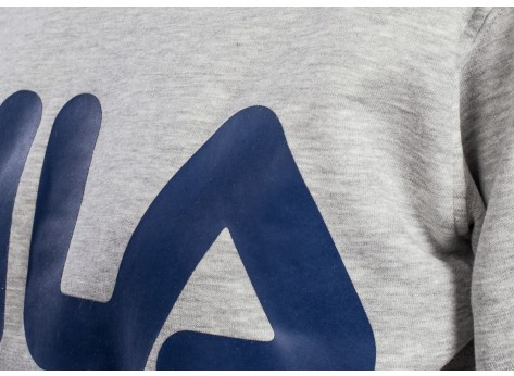 Sweat Fila Sweat Classic Logo gris mixte