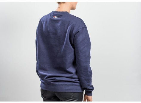 Sweat Fila Sweat Classic Logo bleu marine mixte