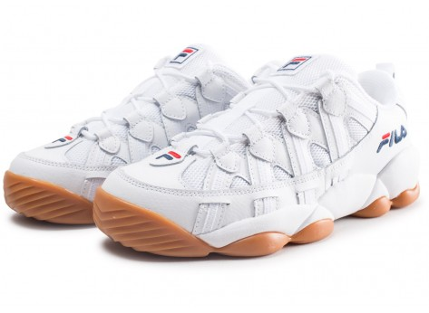 Chaussures Fila Spaghetti Low blanche vue intérieure