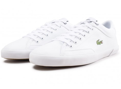Chaussures Lacoste Angha blanche  vue intérieure