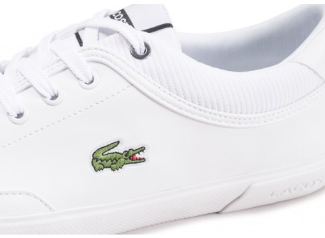 Chaussures Lacoste Angha blanche  vue dessus
