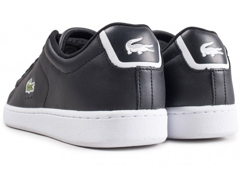 Chaussures Lacoste Carnaby EVO noires vue dessous