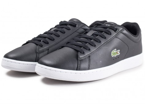 Chaussures Lacoste Carnaby EVO noires vue intérieure