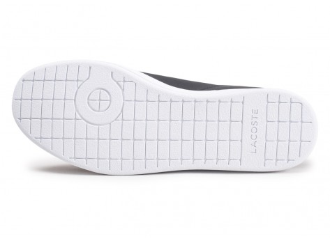 Chaussures Lacoste Carnaby EVO noires vue avant