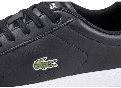 Chaussures Lacoste Carnaby EVO noires vue dessus