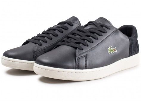 Chaussures Lacoste Carnaby Evo noire vue intérieure