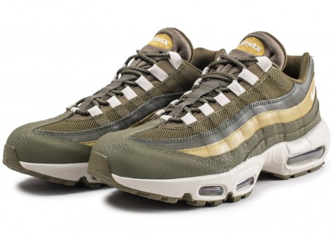 Chaussures Nike Air Max 95 Essential Olive  vue intérieure