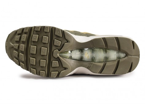 Chaussures Nike Air Max 95 Essential Olive  vue avant