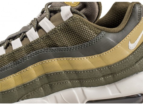 Chaussures Nike Air Max 95 Essential Olive  vue dessus