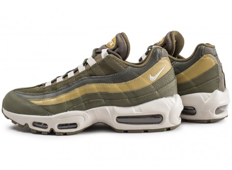Chaussures Nike Air Max 95 Essential Olive  vue extérieure