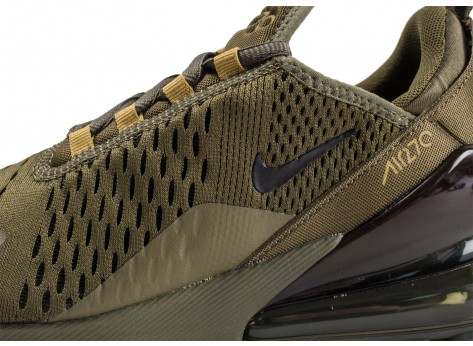 Chaussures Nike Air Max 270 Olive  vue dessus
