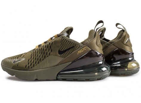 Chaussures Nike Air Max 270 Olive  vue extérieure