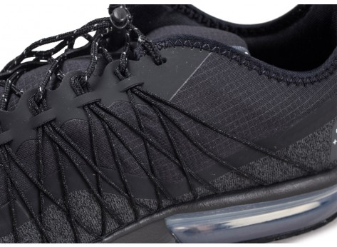 Chaussures Nike Air Max Sequent 4 Shield noire vue dessus
