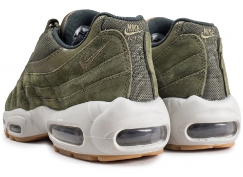 Chaussures Nike Air Max 95 Olive Canvas  vue dessous