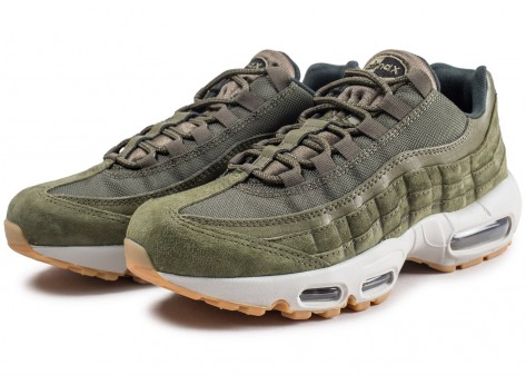 Chaussures Nike Air Max 95 Olive Canvas  vue intérieure